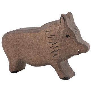 Holztiger Wildschwein 80092 11,5 cm