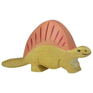 Holztiger Dinosaurus Dimetrodon 80343