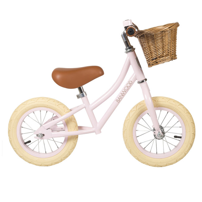 Banwood Loopfiets First Go Roze