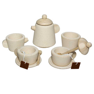 PlanToys Tea Set Wood