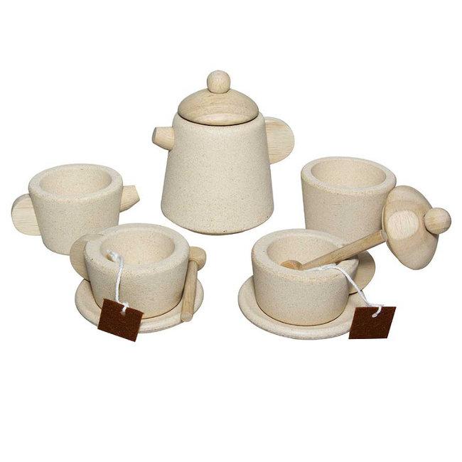PlanToys Tea Set Wood