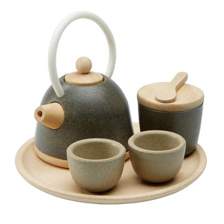 PlanToys Asian Tea Set Wood