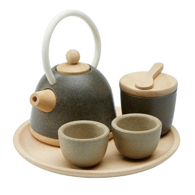 PlanToys Asiatisches Tee-Set Holz
