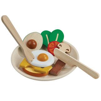 PlanToys Frühstück am Teller