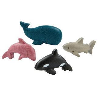 PlanToys Sea Animals Set Wood