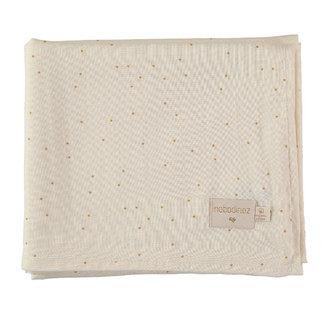 Nobodinoz Mulltuch Honey Sweet Dots 100 x 120 cm