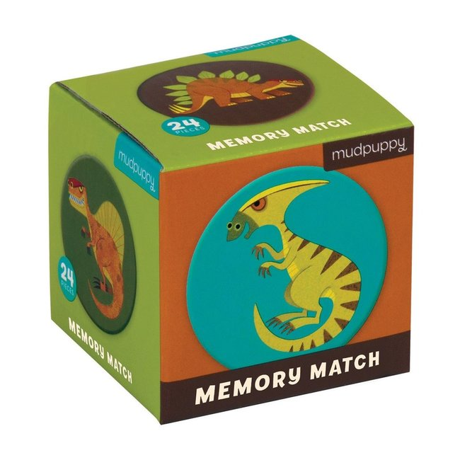 Mudpuppy Mini Memory Spel Dinosaurus