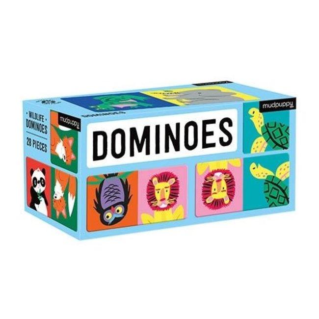 Mudpuppy Domino Wildtiere