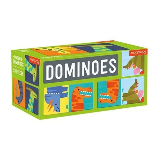Mudpuppy Domino Dinosaurier