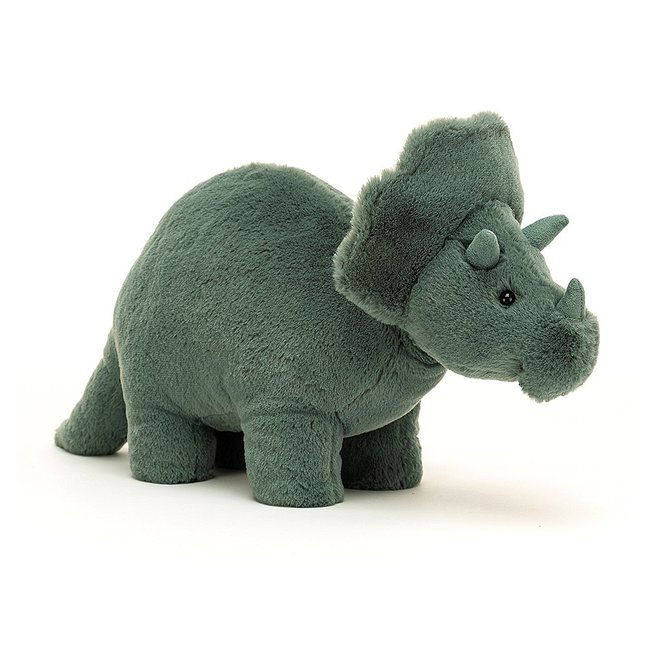 Jellycat Knuffel Dinosaurus Fossilly Triceratops