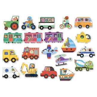 Vilac Magnets Vehicles