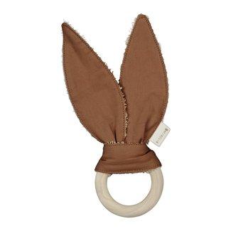 Fabelab Beißring Kaninchen Braun