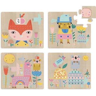 Vilac 4 Holz Puzzles
