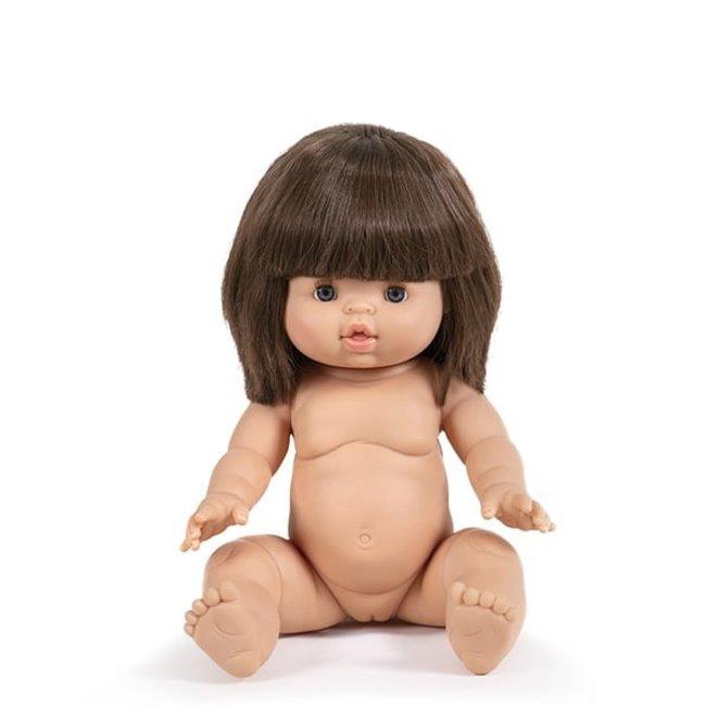 Minikane Pop Chloe Gordi Bruin Haar