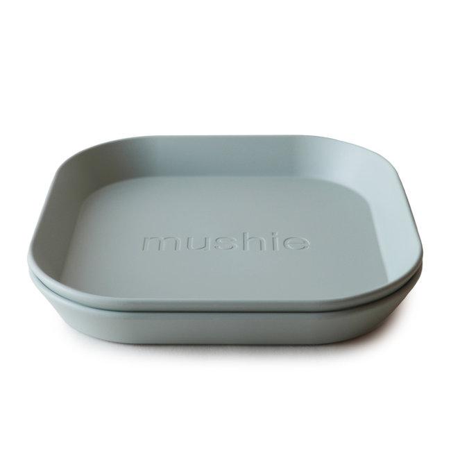 Mushie Plates Sage Set Of 2