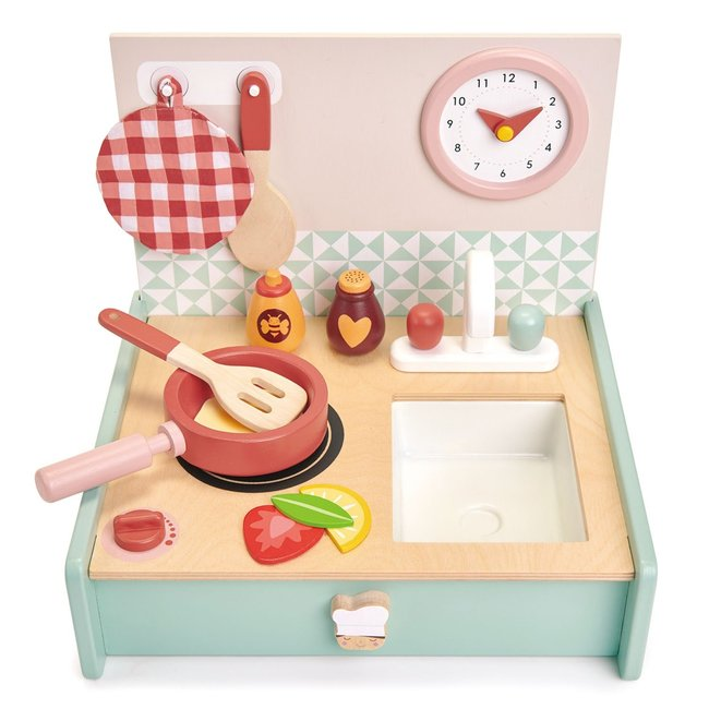 Tender Leaf Toys Kitchenette Wood