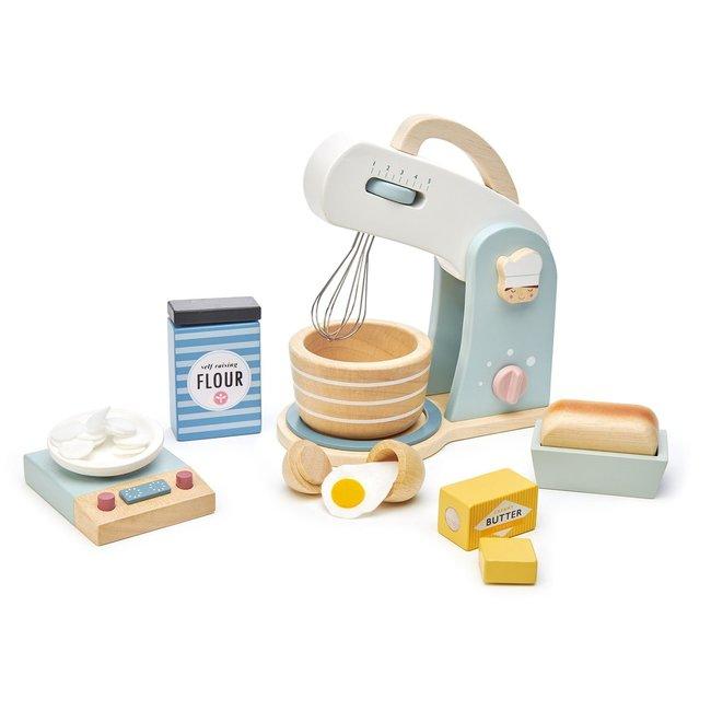 Tender Leaf Toys Bakset Mixer & Weegschaal