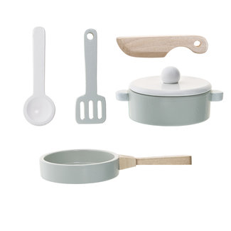 Bloomingville Kitchen Play Set Wood