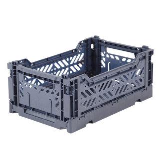 Ay-Kasa Folding Crate Cobalt Blue