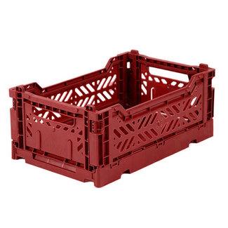 Ay-Kasa Folding Crate Mini Tile Red