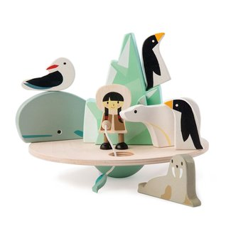 Tender Leaf Toys Balance-spiel Polarkreis