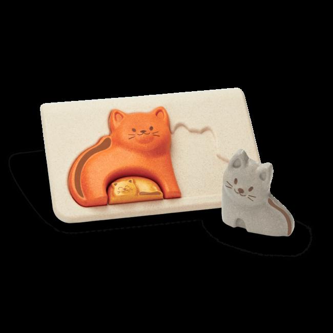 PlanToys Katzen Puzzle
