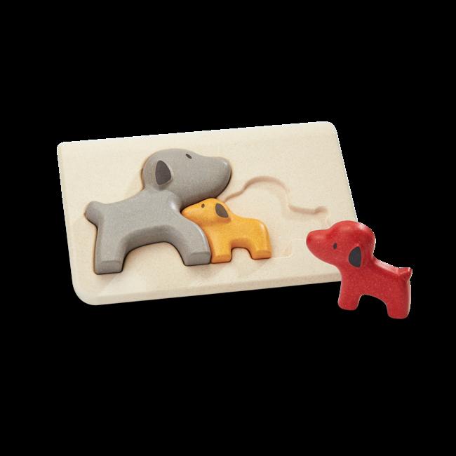 PlanToys Hunde Puzzle