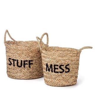 KidsDepot Aufbewahrungskorb-Set Messy Stuff