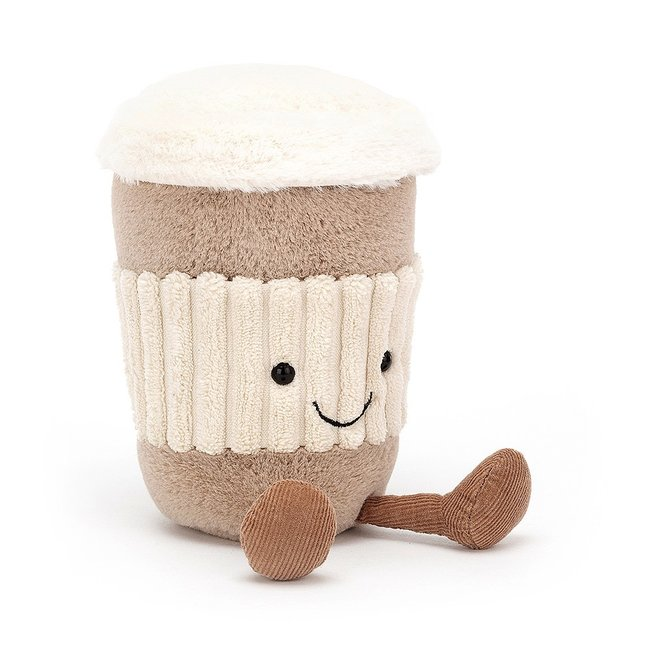 Jellycat Amuseable Knuffel Coffee To Go