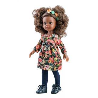 Puppe Amigas Nora Blumen