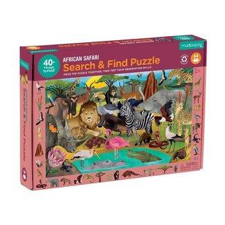 Mudpuppy Puzzle Suchen & Finden Afrika