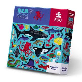 Crocodile Creek Puzzle Ozeantiere 500 Teile