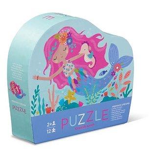 Crocodile Creek Puzzel Mermaid Dreams 12 st.