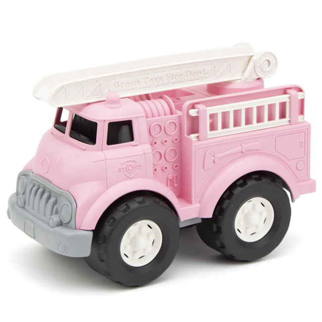 Green Toys Brandweerauto Roze