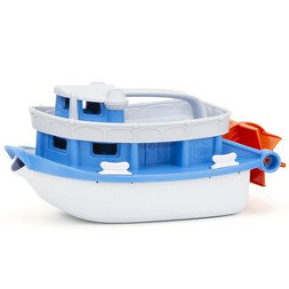Green Toys Boot Blau