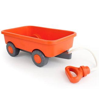 Green Toys Nachzieh-Wagen Orange