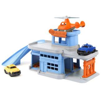 Green Toys Garage Blau