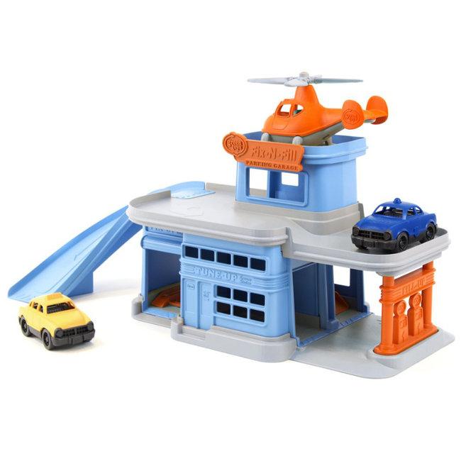 Green Toys Garage Blauw