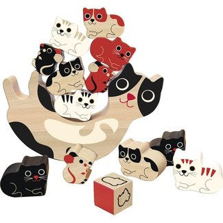 Vilac Stapel Spiel Katzen