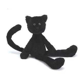Jellycat Casper Katze Schwarz 38 cm