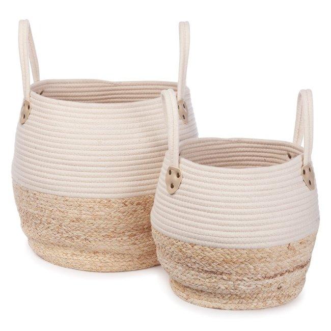 KidsDepot Baskets Kori White