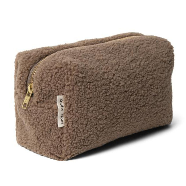 Studio Noos Teddy Chunky Pouch Brown