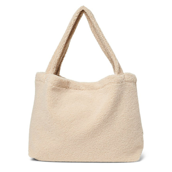 Studio Noos Chunky Teddy  Ecru Mom Bag