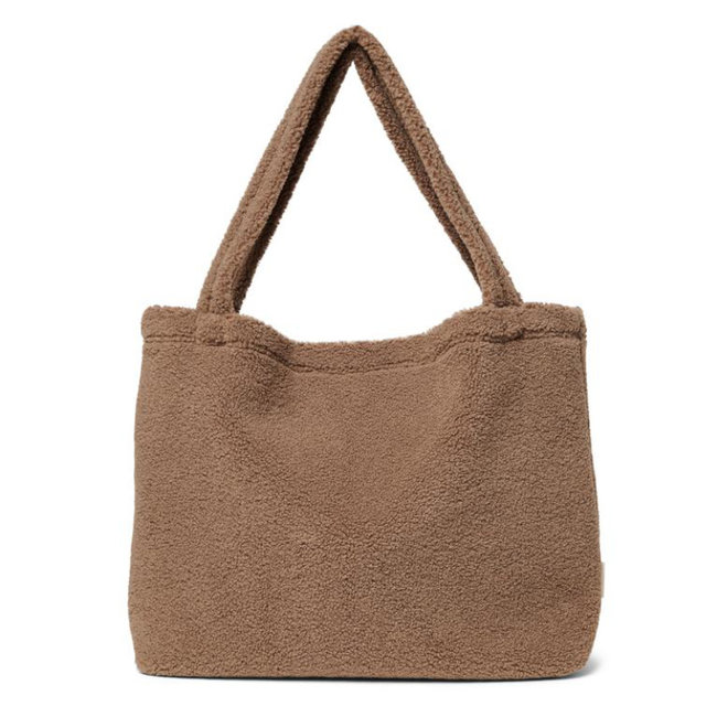 Studio Noos Chunky Teddy  Brown Mom Bag