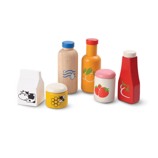PlanToys Food & Beverage Set