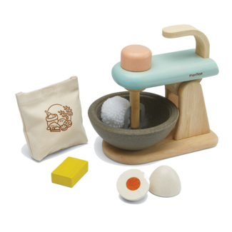 PlanToys Speelgoed Mixer Hout