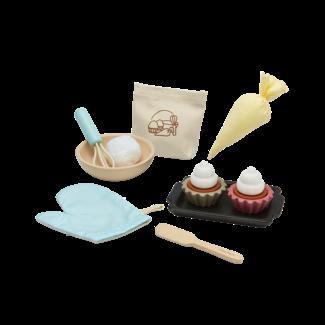 PlanToys Cupcake Set Wood