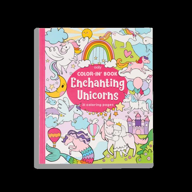 Ooly Malbuch Unicorns