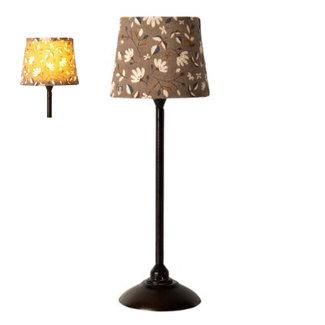 Maileg Miniatur-Stehlampe Schwarz