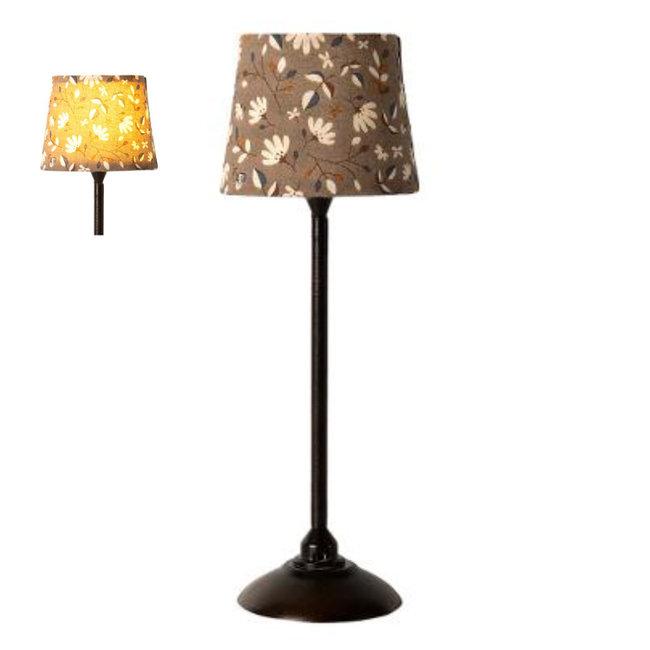 Maileg Miniature Floor Lamp Black